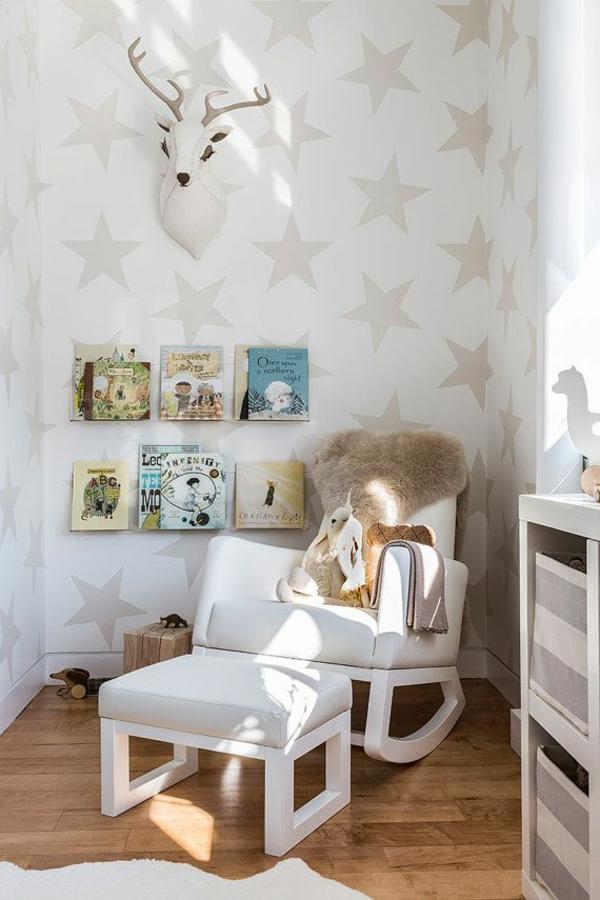 Muster Tapeten Tapezieren : Designer Tapeten mit lustigen Mustern f?r Ihr Baby- oder Kinderzimmer