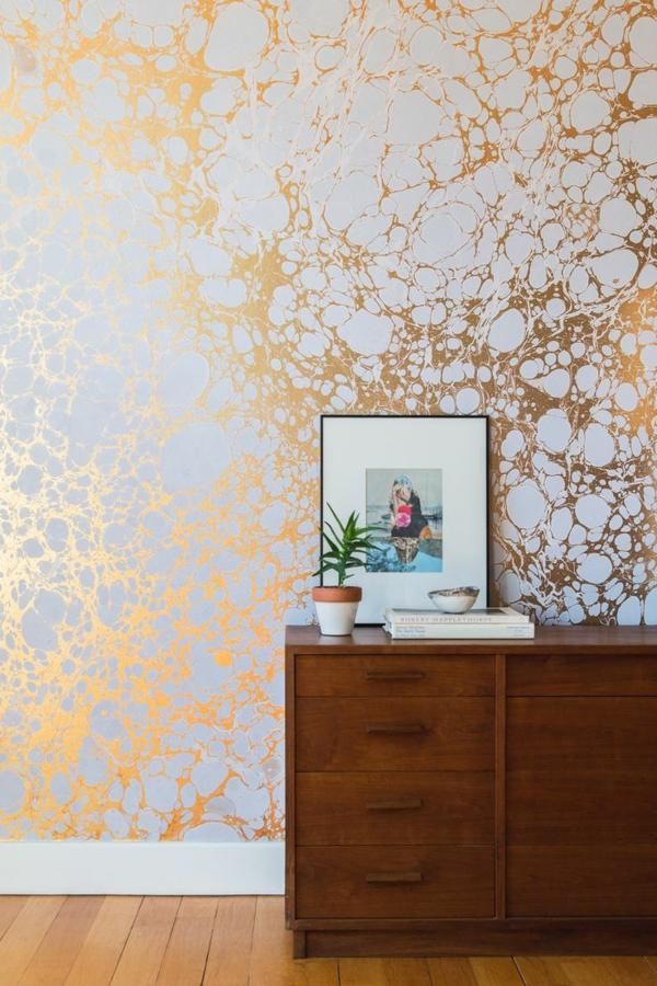 richtig tapezieren designer tapeten und mustertapeten. Black Bedroom Furniture Sets. Home Design Ideas