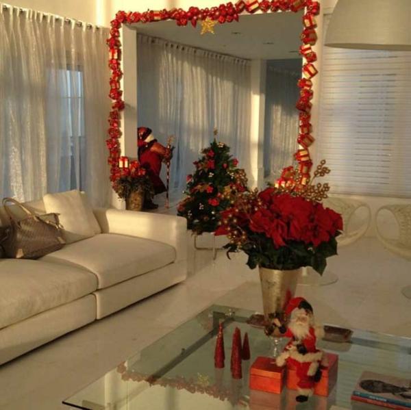 weihnachtiches basteln deko ideen girlande basteln resized
