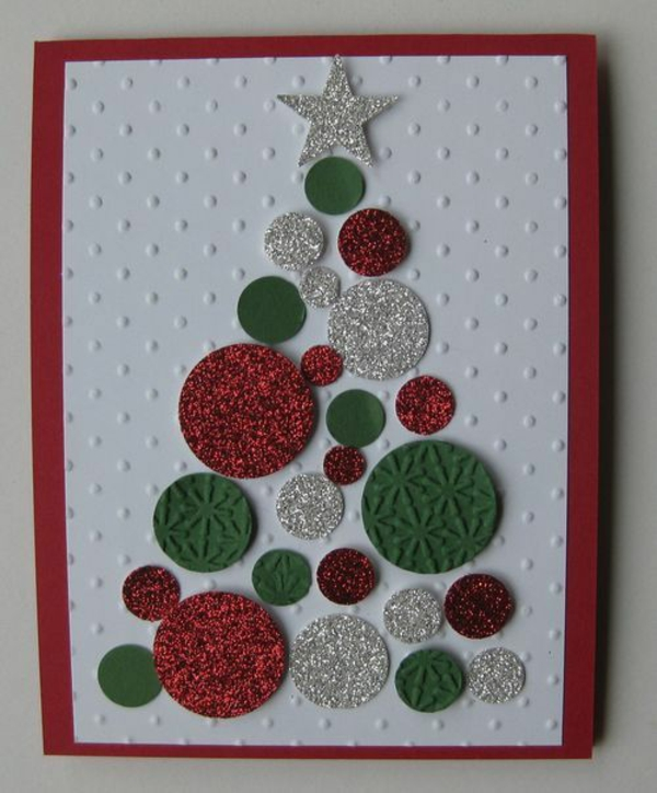 Weihnachtskarten basteln 50 kreative geschenkideen f r sie for Originelle weihnachtskarten