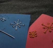 Weihnachtskarten basteln – einfacher als Sie denken