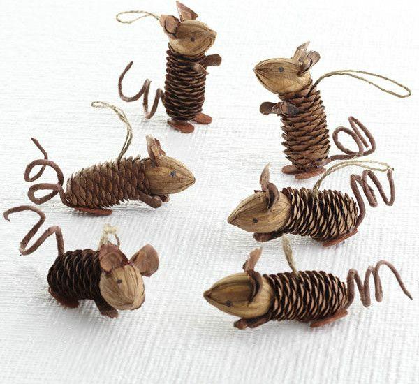 weihnachtsbasteln mit kindern bastelideen für weihnachten aus tannenzapfen