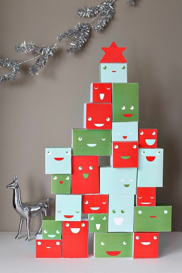 weihnachtsbasteln mit kindern weihnachtsgeschenk ideen