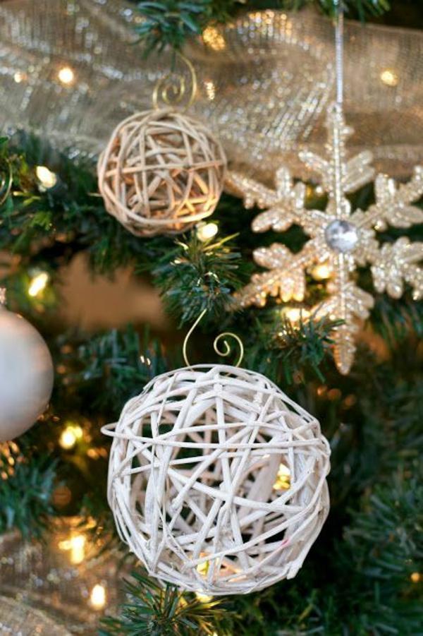 Awesome Weihnachtsbaum Geschmückt Basteln Weiß Awesome Ideas