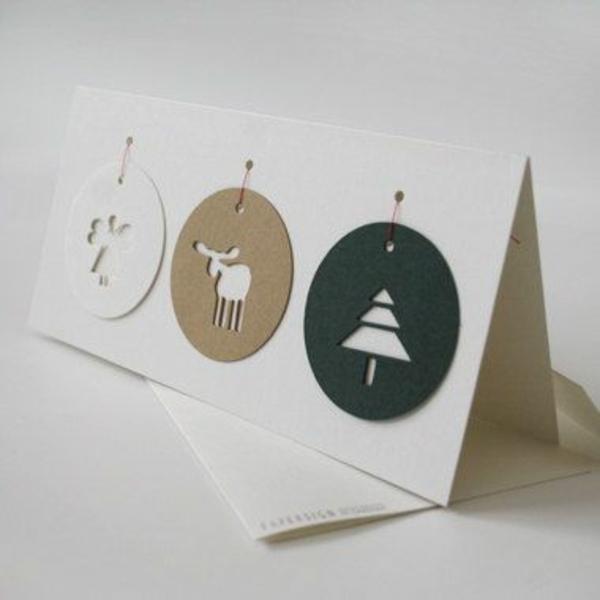weihnachtsgeschenke basteln kugel winter