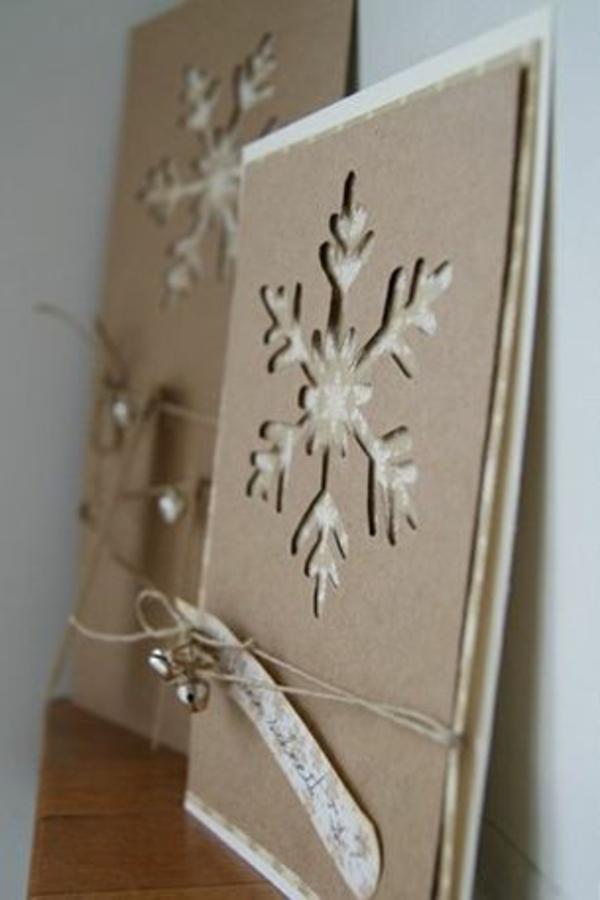 weihnachtsgeschenke basteln schneeglöckchen