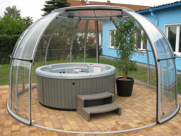 whirlpool im garten g nnen sie sich diese besonde art entspannung. Black Bedroom Furniture Sets. Home Design Ideas