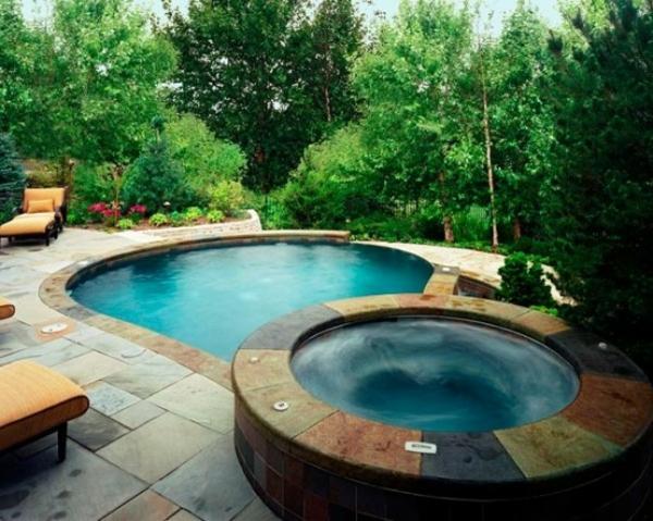 whirlpool im garten - gönnen sie sich diese besonde art entspannung, Garten und Bauen