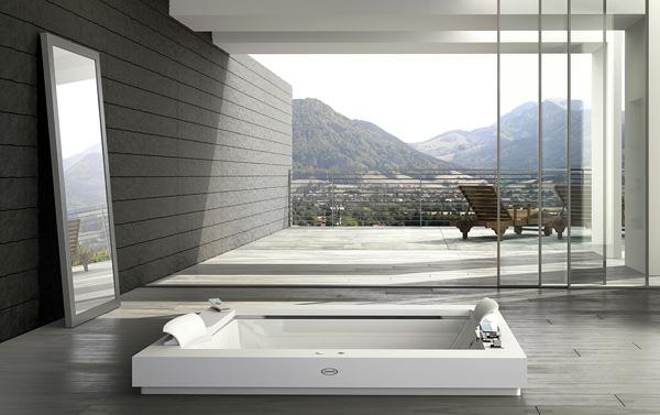 whirlpools für innen balkon spiegel