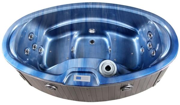 whirlpools für innen blau metallic