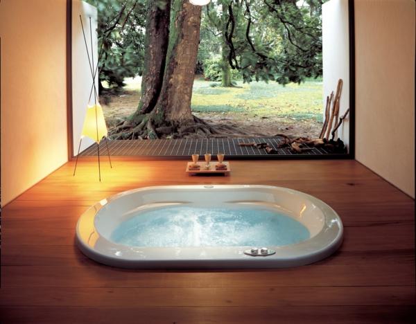 whirlpools für innen mit stehlampe