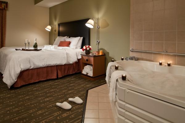 whirlpools für innen hotel romantisch