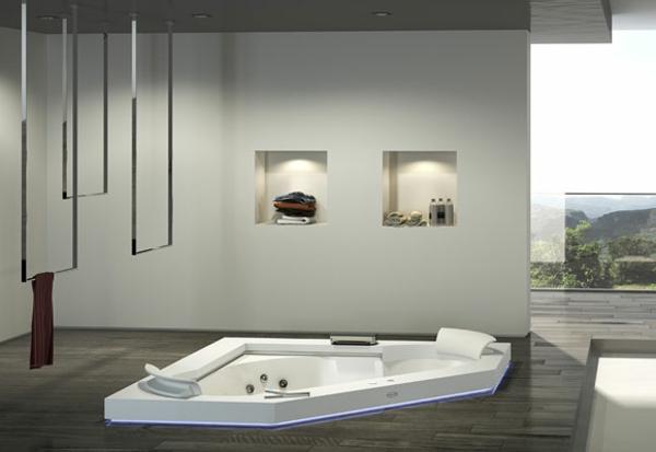 whirlpools für innen minimalistisch