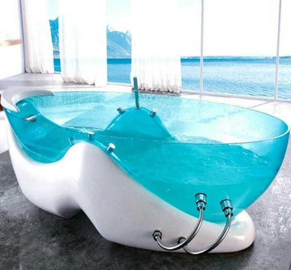whirlpools für innen türkis weiß