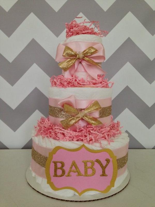 Tutu Diaper Cake Ideas