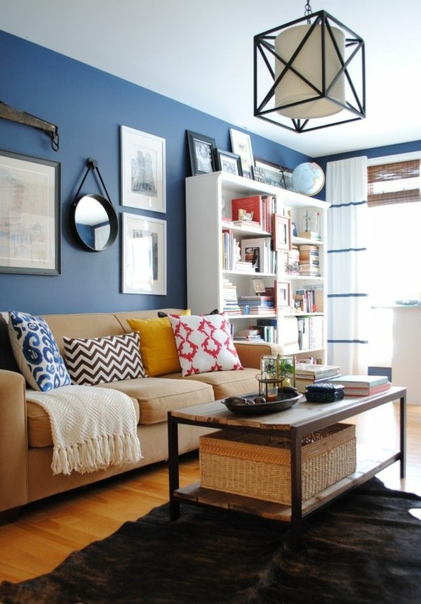 wandgestaltung wohnzimmer kolonialstil – Dumss.com
