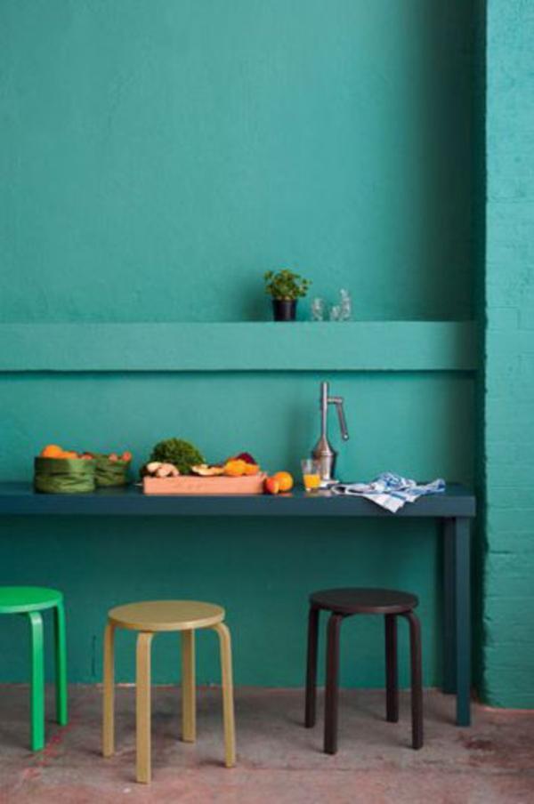 coole wohnzimmer farben:Pin Grelle Farben Für Wohnzimmer Grün Wand ...