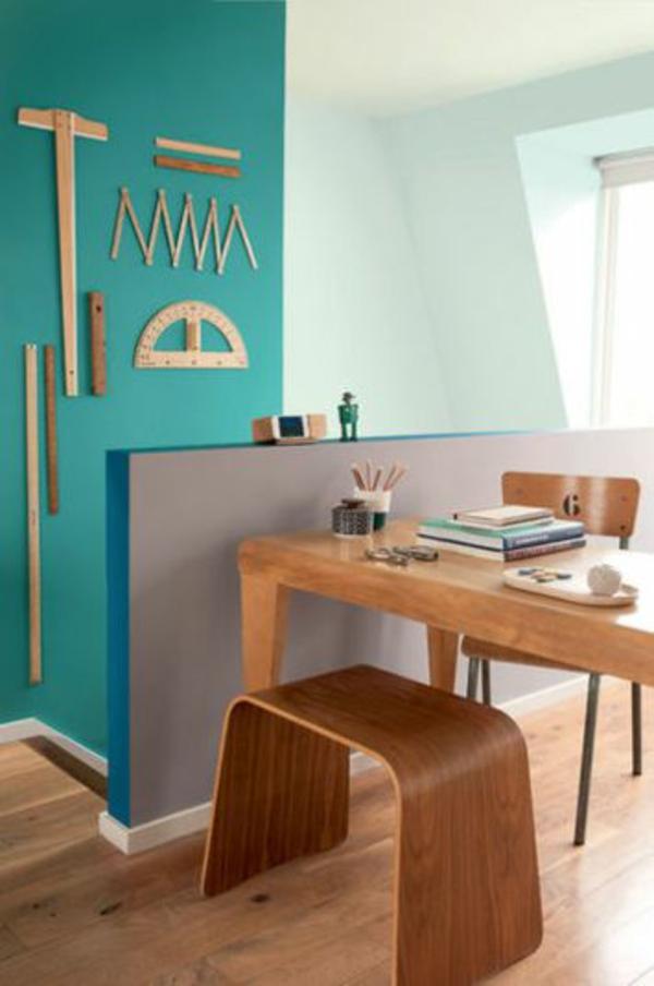 wohnideen gegenstnde farben wandgestaltung holz - Wohnzimmerfarben