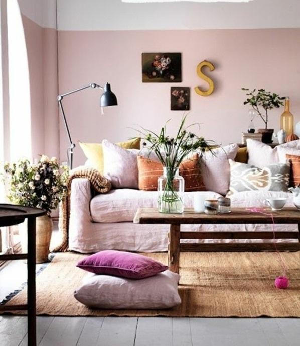 Farbe Die Farbe Wohnzimmer Mit Farbe Die Raumarchitektur Beeinfluss ...