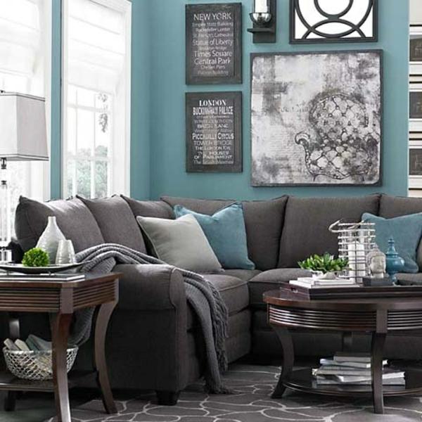 Wohnideen wohnzimmer graues sofa  ▷ 1001+ Sofa Grau – Beispiele, Warum Sie Ein Sofa Genau ...