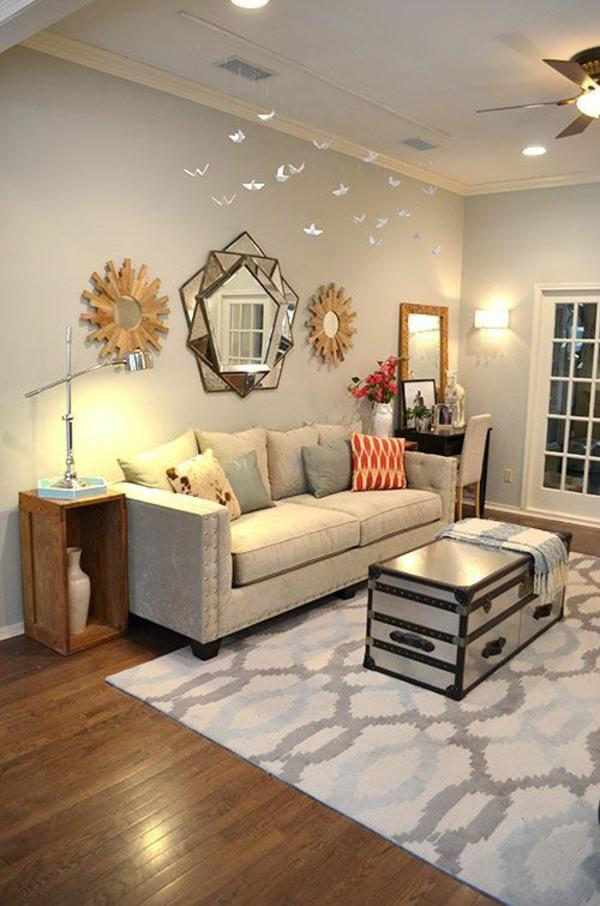 wohnzimmer accessoires bringen leben ins zimmer:Benjamin Moore Revere Pewter Living Room