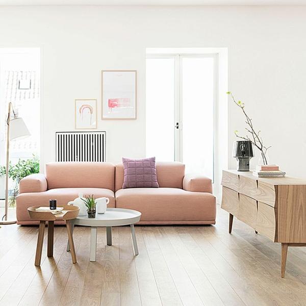 Wundervoll Wohnzimmer Modern Einrichten Couchtisch Rund Skandinavisches Design  Skandinavische Möbel Verleihen Jedem Ambiente Ein Modernes Flair ...