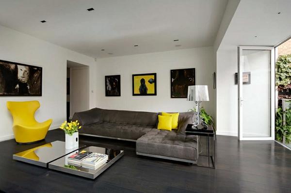 wohnzimmer modern einrichten stehlampen design