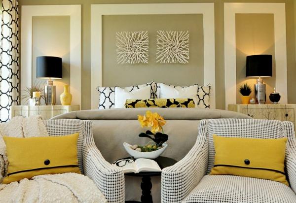 wohnzimmer modern einrichten wandfarbe eierschalenfarben einrichtungsideen