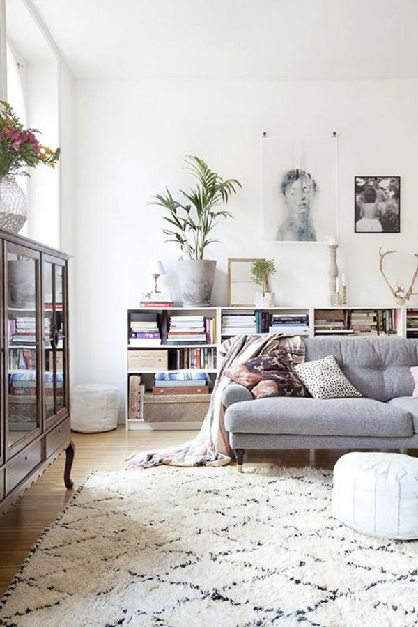 wohnzimmer einrichten ideen bilder design deko