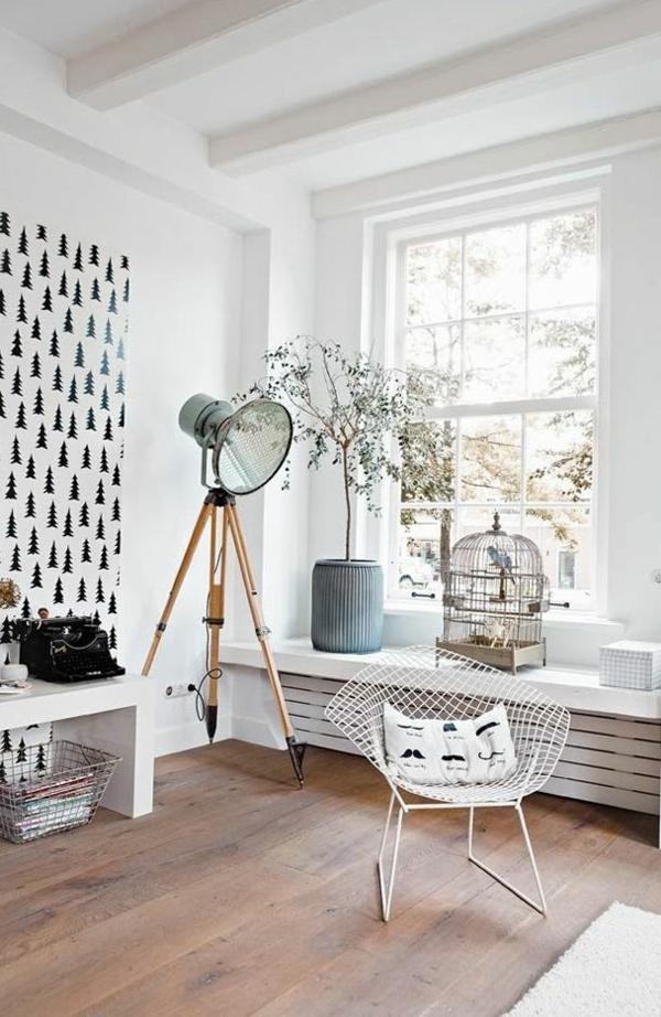 Wohnzimmer Gestaltung Ideen Bilder Design Holz Bodenbelag 50 Helle  Wohnzimmereinrichtung Ideen ...