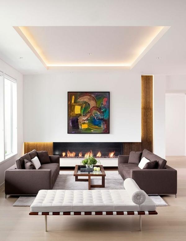 gestaltung ideen bilder wohnzimmer design indirekt beleuchtung