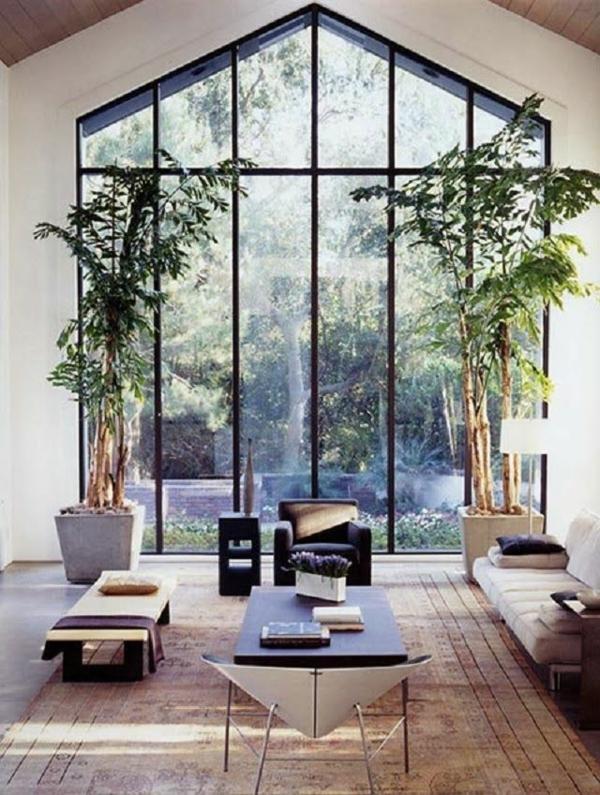 Wohnzimmereinrichtung Ideen Bilder Design Offen