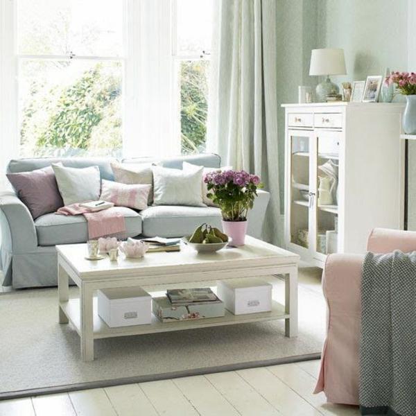Wohnzimmer Design Tisch Couch 50 Helle Wohnzimmereinrichtung Ideen ...