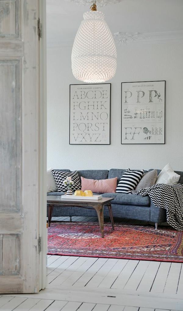 gestaltung ideen wohnzimmer design vintage