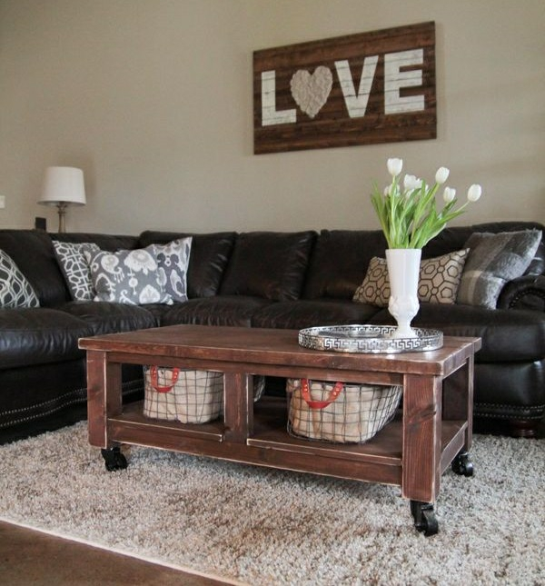wohnzimmermöbel landhausstil einrichtungsideen wohnzimmer rustikal