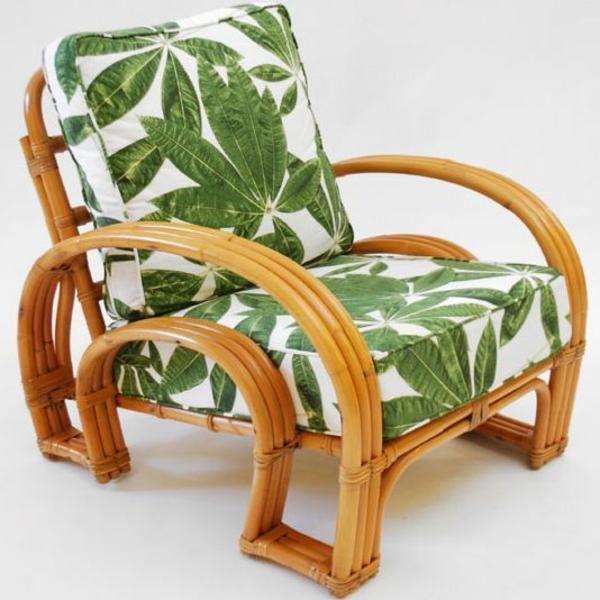 wohnzimmermöbel rattanmöbel rattan lounge möbel sessel mit polsterauflagen