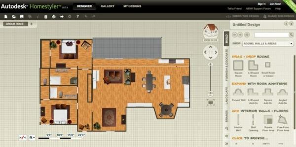 Wohnzimmerplaner kostenlos autodesk homestyler wird for Einrichtungsplaner kostenlos