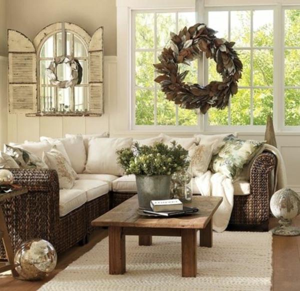 wohnzimmertisch wintergartenmöbel rattanmöbel holz couchtisch sofa