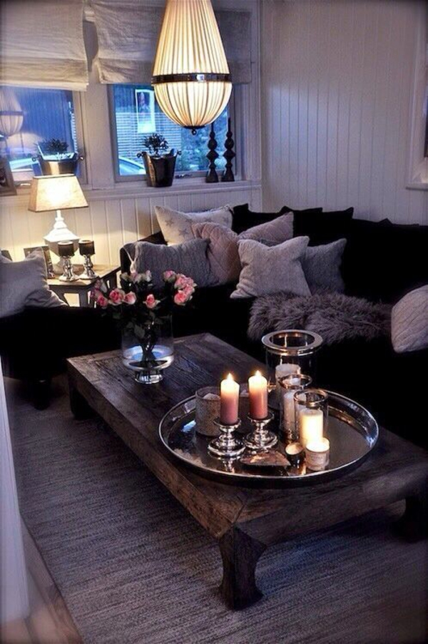 wohnzimmertische holz couchtisch massivholz wohnzimmer rustikal kuschelige ecke