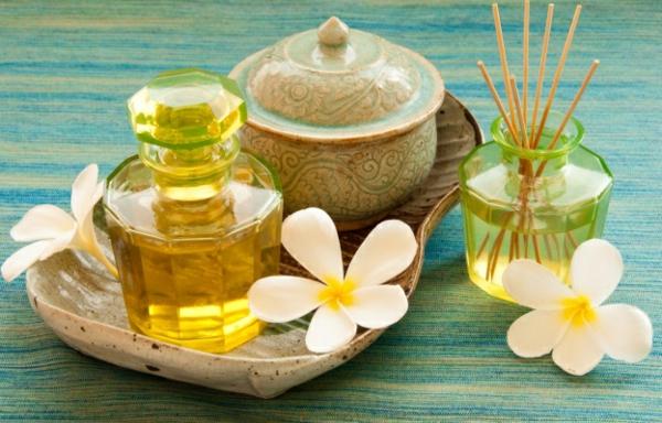Ätherische Öle Wirkung aromatherapie exotisch