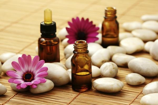 Ätherische Öle Wirkung aromatherapie flusssteine
