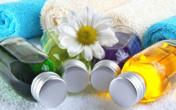 Ätherische Öle Wirkung aromatherapie grün gelb