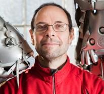 Alte BMW Radkappen in Tierfiguren transformiert