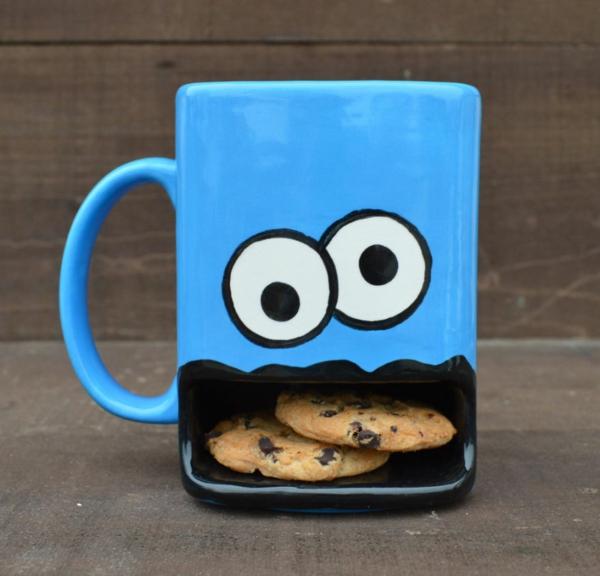 Außergewöhnliche Geschenke für Freunde tasse cookies