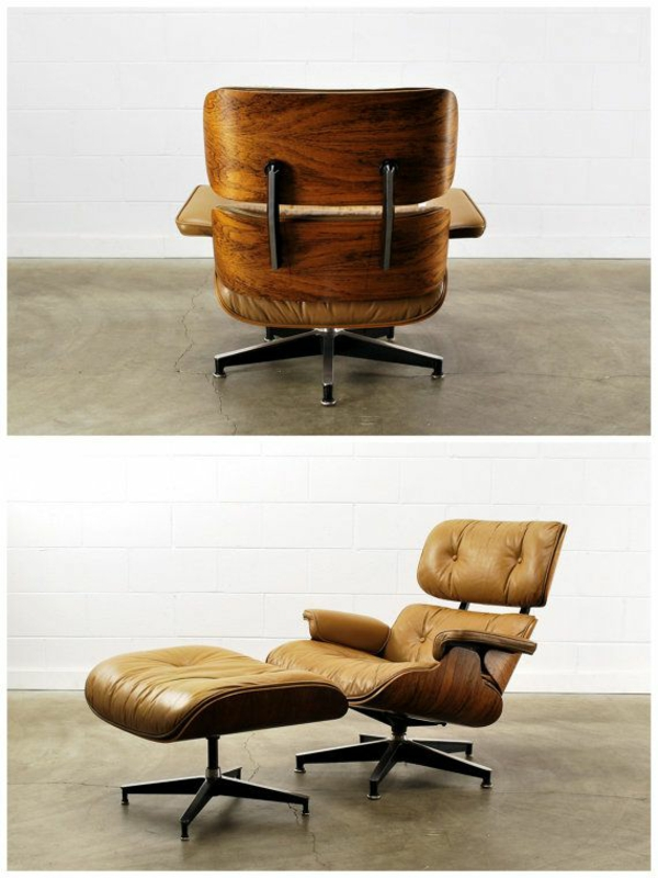 Charles Eames Lounge Chair Wohnzimmermöbel Designersessel