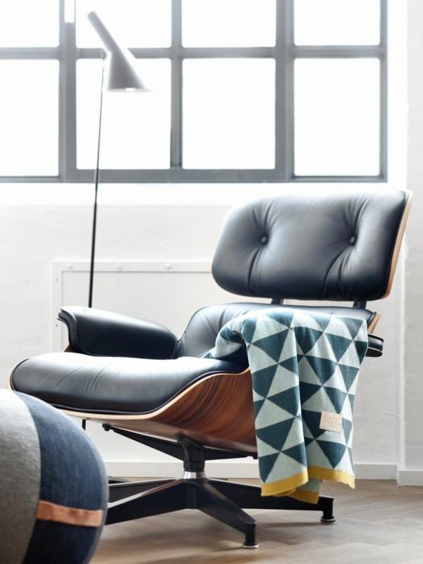 Charles Eames Lounge Chair wohnzimmermöbel relaxsessel