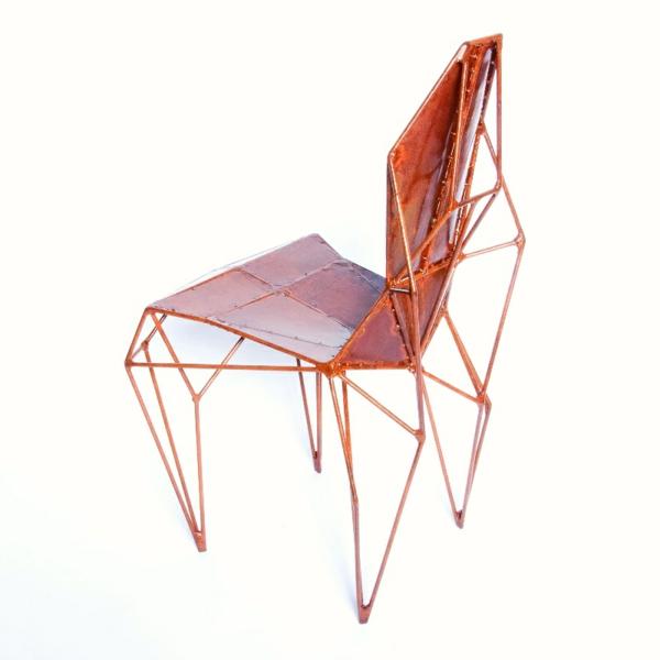 Designerstühle Benjamin Nordsmark Rust