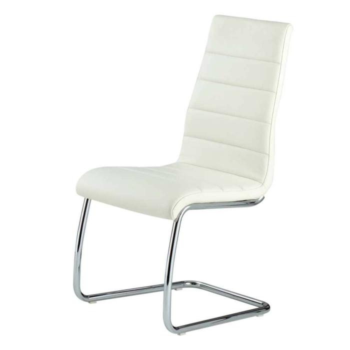 Freischwinger stühle Designer stühle Monalisa in Weiс