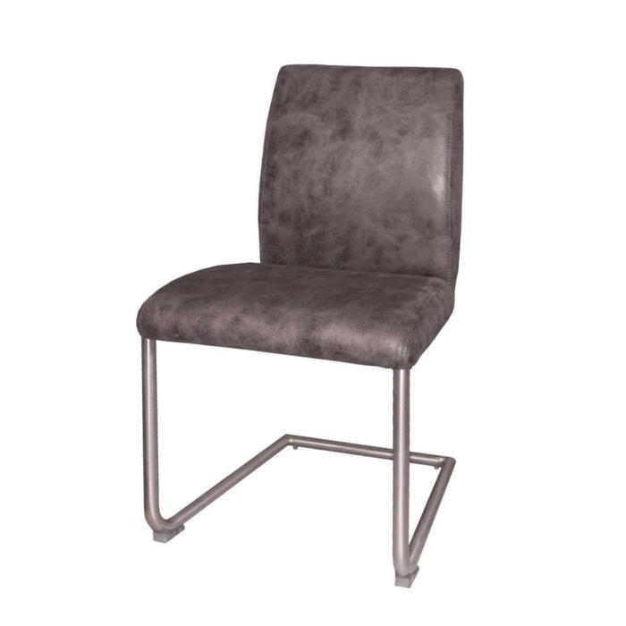 Freischwinger stühle grau Designer stühle Gora