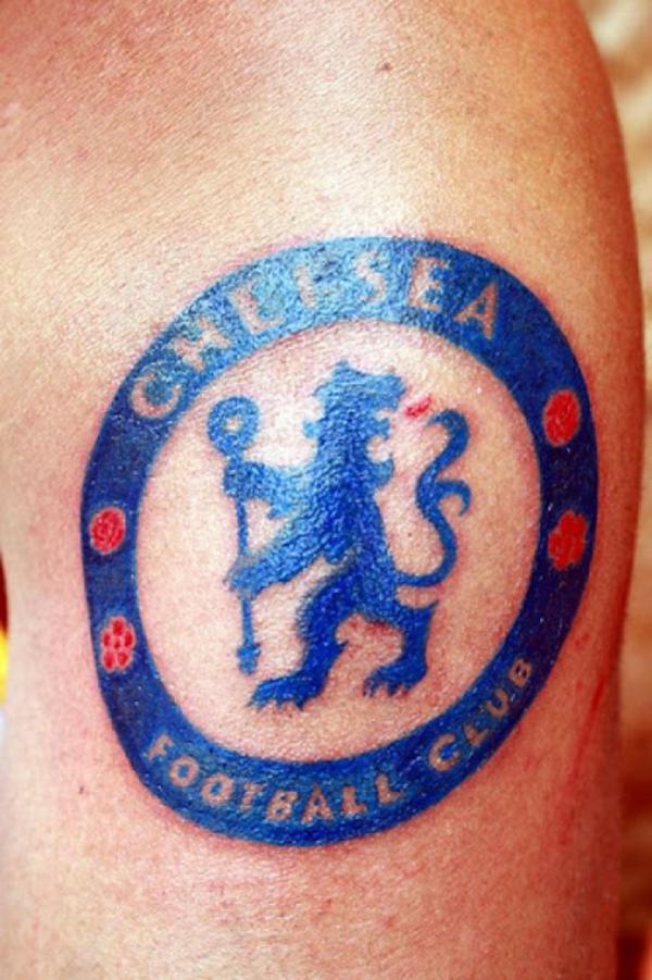 Fußball Tattoos bilder stars bein